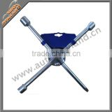 4 way wheel spanner cross wrench spanner cross wrench