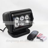30W Wireless remote control magnetic 30W work lights, car roof lights, inspection lights