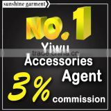 11 years experience China Yiwu Agent, Soucing and public Agent.Low commission,with shipping service