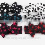 2016 new fashion baby girl hair accessories stars bow headband