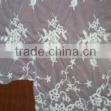 R&H sequin embroidery lace fabric Multicolor China factory price sequins lace trimmings