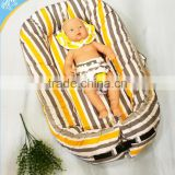 Baby unisex snuggle nest,baby nest newborn sleep positioner,portable crib and crib reducer