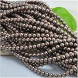 shell pearl and glass pearl custom made and wholesale 20mm mixed colour shell pearl or glass pearl round beads loose strands