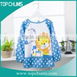 2015 china supplier cheap cotton pvc bib cock china,bib for baby,waterproof fabric for bib