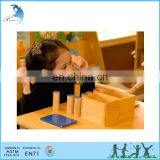 2017 New montessori cylinder blocks kindergarten wooden educational teaching aids for kids with best quality
