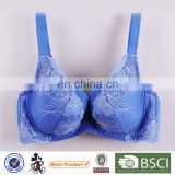 Made in China Factory Direct Sale 3/4 Cup Adjustable Lace Unlined Bra