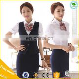 2015 Hot Sale Women Bank Uniform, Ladies Office Bank uniform for Adult