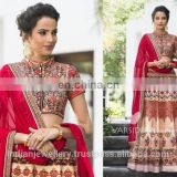 Bridal Lehanga choli export supply, Indian wedding ethnic dress maker