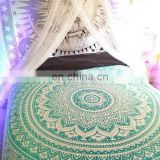Indian wall Decor Wall Hanging Mandala Print Bed Sheet Cotton Printed Tapestry 1