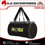 Wholesale 100% Polyester Customize Gym Bags Manufacturer