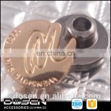 custom jeans rivets buttons for clothing, engraved rivet for wholesale jean manufacturers in usa, metal rivet on used clothing