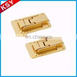 Wholesale Oem Luggage Bag Buckles Long Metal Lock Hardware For Handbag