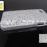 shining crystal iphone 5 gold stickers