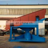 Mining screener vibrating screen separating stone,gravel,sand in mineral Image