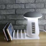 Tenee T-PC006   usb and fast multifunction charger with led table lamp