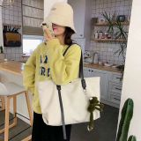 2020 hot and Fashion all match canvas bag women's shouder  bags/hand bags