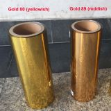 Gold PET Metalized Thermal Lamination film