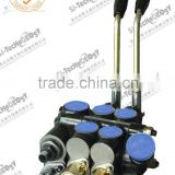 CDB-15F-2OT manual and electro-pneumatic hydraulic control valve,high pressure electric-hydraulic control valve for tractor