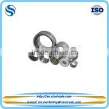 One way needle roller bearing with machined rings with flanges and inner ring