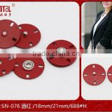 New arrival metal press stud button for ladys garment