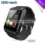 2015 Hot selling Bluetooth Smart Watch U8 Waterproof Wirst Watch for Samsung Xiaomi iphone Android Phone