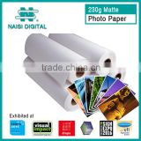 300gsm Inkjet Matte Photo Paper for digital printing                                                                         Quality Choice