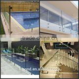 Toughened Glass /Bending Temper Glass for staircase and balcony