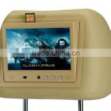 "7"" display lcd screen panel 3G wifi bus taxi advertising player mounting system headrest lcd monitor"