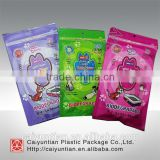 Pet dog toy plastic package bag, printed dog toy plastic bag, high quality dog food plastic bag