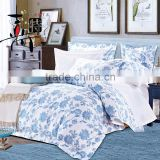 Cotton satin paint printing luxury suite four sets of bedding                                                                         Quality Choice