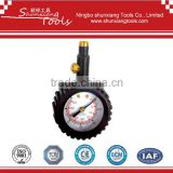 "Premium 2"" tire pressure gauge with 360 degree swivel chuck for SUV, truck etc TG-017"