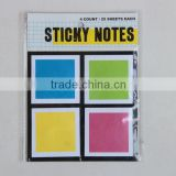 popular square printed sticky notes, dot sticky notes, arrow sticky notes for memo