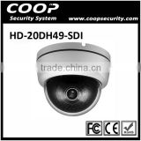 Full 1080P OSD Panasonic Camera 2 MegaPixel CCTV HD SDI Dome Camera