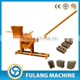 1-40 low cost smallest clay compressed earth interlocking brick block making machine interlocking brick machine manual