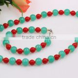 New Design Noble Fashion Wholesale Lady Wedding Jewellry Beads Pearl Jewelry Set Necklace Bracelet