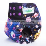double gusset Organic modern super soft cloth diaper print                                                                         Quality Choice