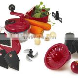 S/S+ABS+PP 21.5*18*24 Kitchen tools food processor/baby food processor/fruit and vegetable processor/multi processor