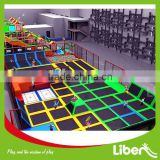 Commercial trampoline park for sale, olympic trampoline, bungee jumping trampoline LE.X3.405.091