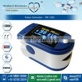Digital Pulse Display Finger Tip Pulse Oximeter with Low Power Consumption