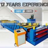 Newly design classical double roof forming machine