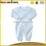 2016 clothing sets OEM service 100% organic cotton blank baby clothes                                                                                                         Supplier's Choice