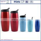 double wall insulated 11oz stainless steel travel mug replacement lid thermal mug stainless steel