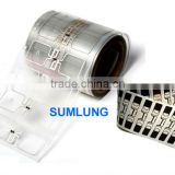 Clear RFID Dry Inlay with UHF Chip Transparent Flexible PET Housing