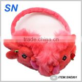 Faux Fur Hair Soft Plush Winter Warm Ear Pad Muffs Cover Earmuffs