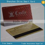 magnetic stripe plastic card with UV spot, loco magnetic plastic card with silver printing