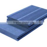 Dark gray solid wpc deck Anti-UV waterproof wpc wood swimming pool decking composite decking