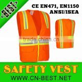 100% polyester safety vests for women
