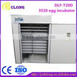 Best quality 3520 eggs industrial automatic incubator industrial for chick