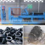 tire steel removing machine to pull the steel ring from tire bead