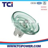 Hot selling HV 120kn toughened glass disc insulator                                                                         Quality Choice